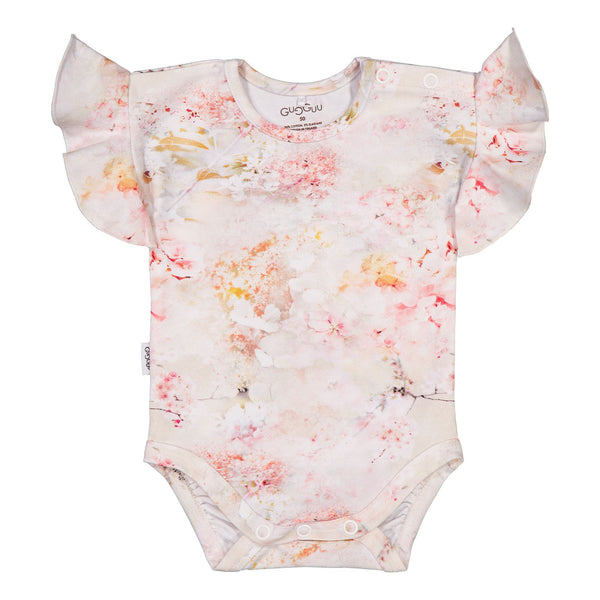 Gugguu Baby Print Smoc Body Bodyt Dreamy Flower 50