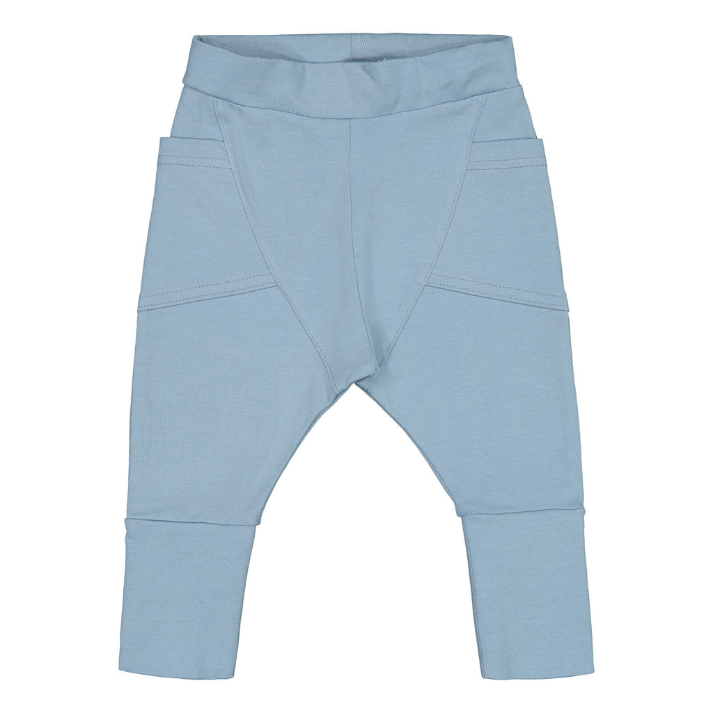 Gugguu Baby Trikoo Pants Housut Frozen Blue 50