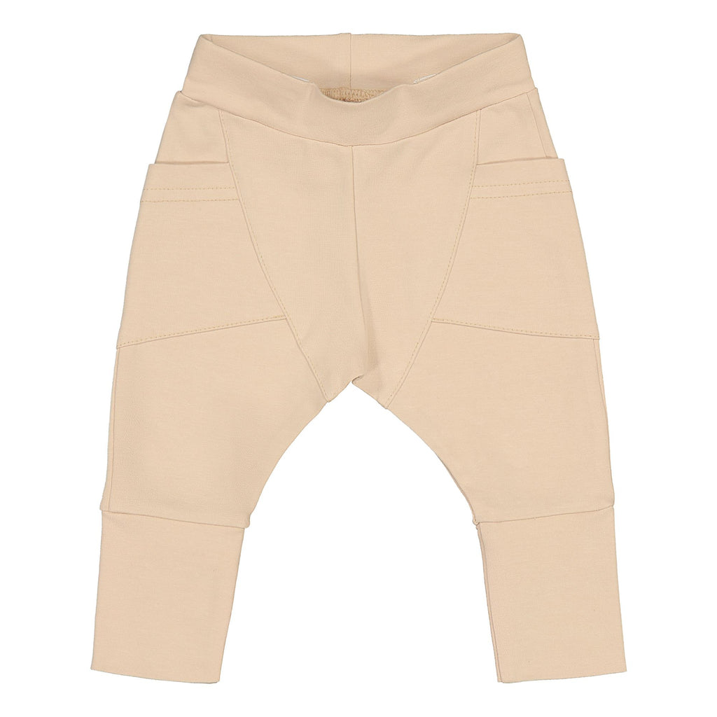 Gugguu Baby Trikoo Pants Housut Vanilla Coffee 50