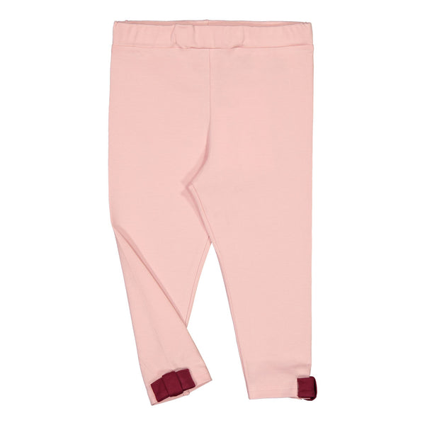 Gugguu Bow Leggings Housut Coral Blush/Rhododendron 140