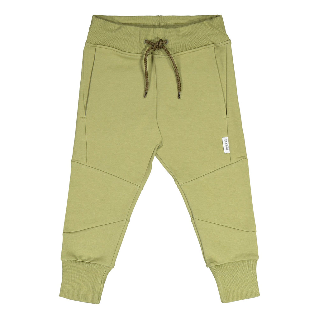 Gugguu Cube Baggy Housut Sage Green 80
