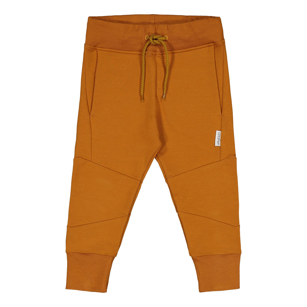 Gugguu Cube Baggy Housut Tanned Yellow 80