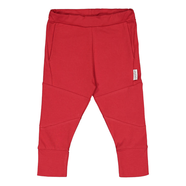 Gugguu Cube Pants Housut Ruddy Red 62