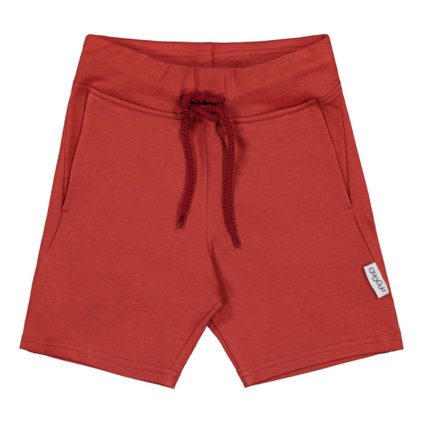 Gugguu Cube Shortsit Shortsit Spicy red 80