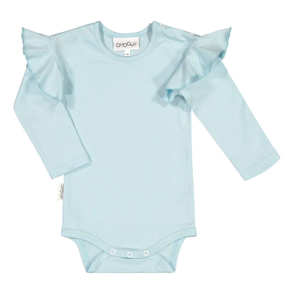 Gugguu Frilla Body Bodyt Baby Blue 80