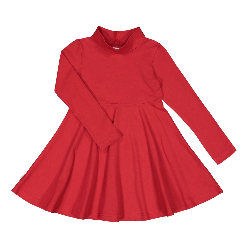Gugguu Half Turtleneck Mekko Mekot Ruddy Red 104