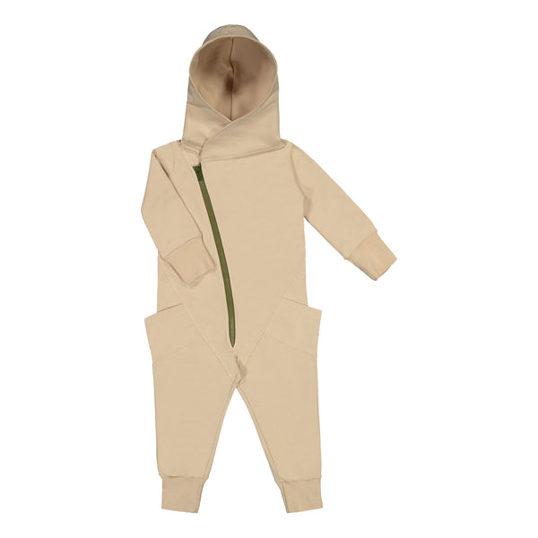 Gugguu Jumpsuit Jumpsuitit Vanilla Coffee / Olive Green 80