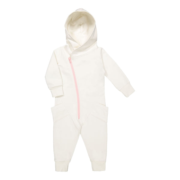 Gugguu Jumpsuit Jumpsuitit White candy / Bubble gum 80