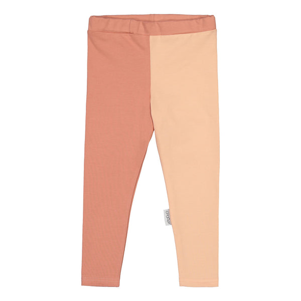 Gugguu Leggings 2-värinen Leggingsit Rose Berry/Soft Cloud 140