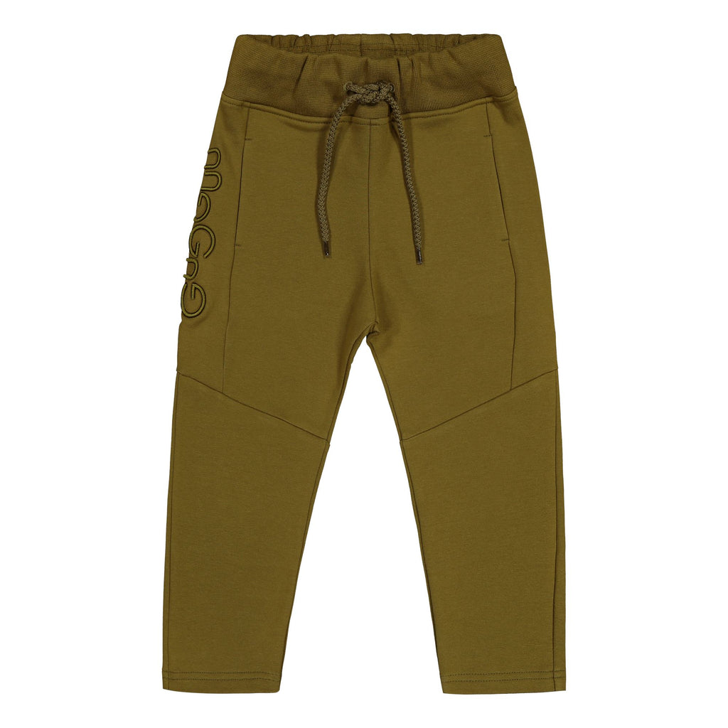 Gugguu Logo Collegehousut Housut Olive Green 80
