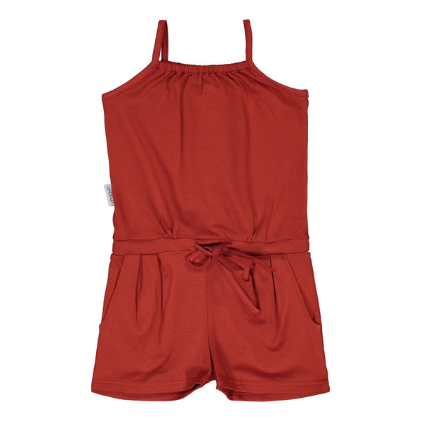 Gugguu Oneshort Haalari Jumpsuitit Spicy red 80