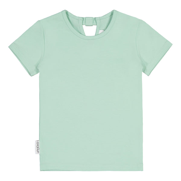 Gugguu Outlet Bow T-shirt Paidat Green 80