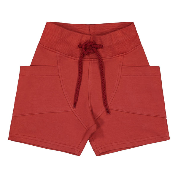 Gugguu Outlet College Shorts Shortsit Spicy Red 80