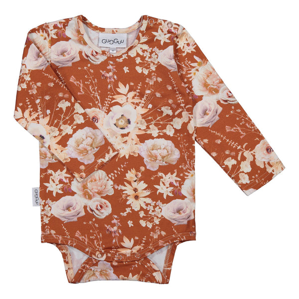 Gugguu Outlet Print Body Bodyt Cayenne Rose 62