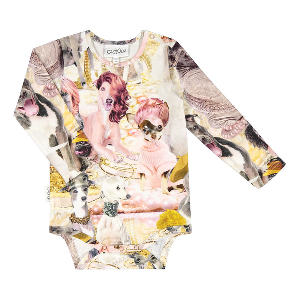 Gugguu Print Body Bodyt Parisian Dogs 62