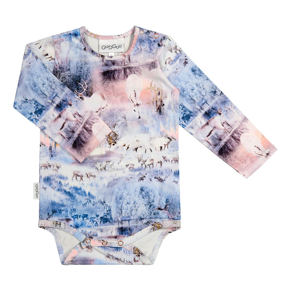 Gugguu Print Body Bodyt Winter Wonderland 62