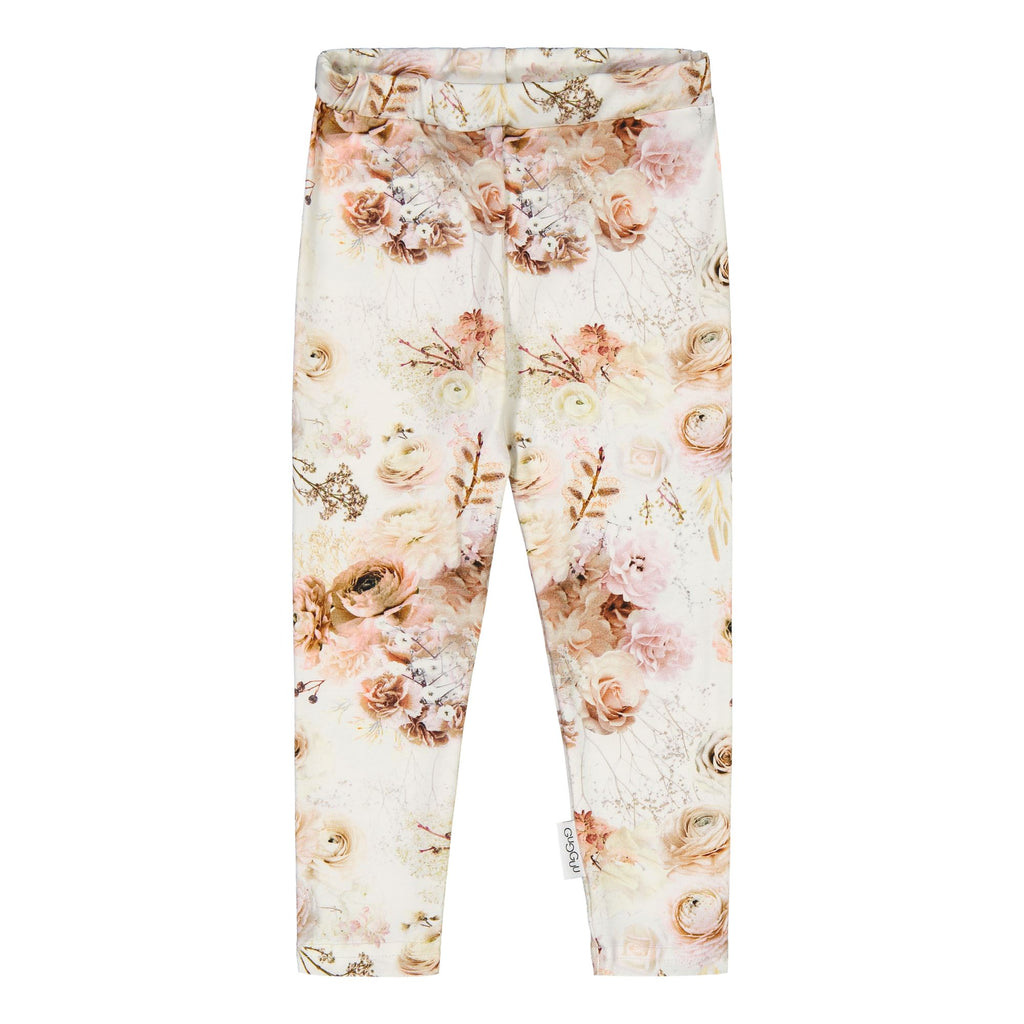 Gugguu Print Leggings Leggingsit Autumn Garden 80