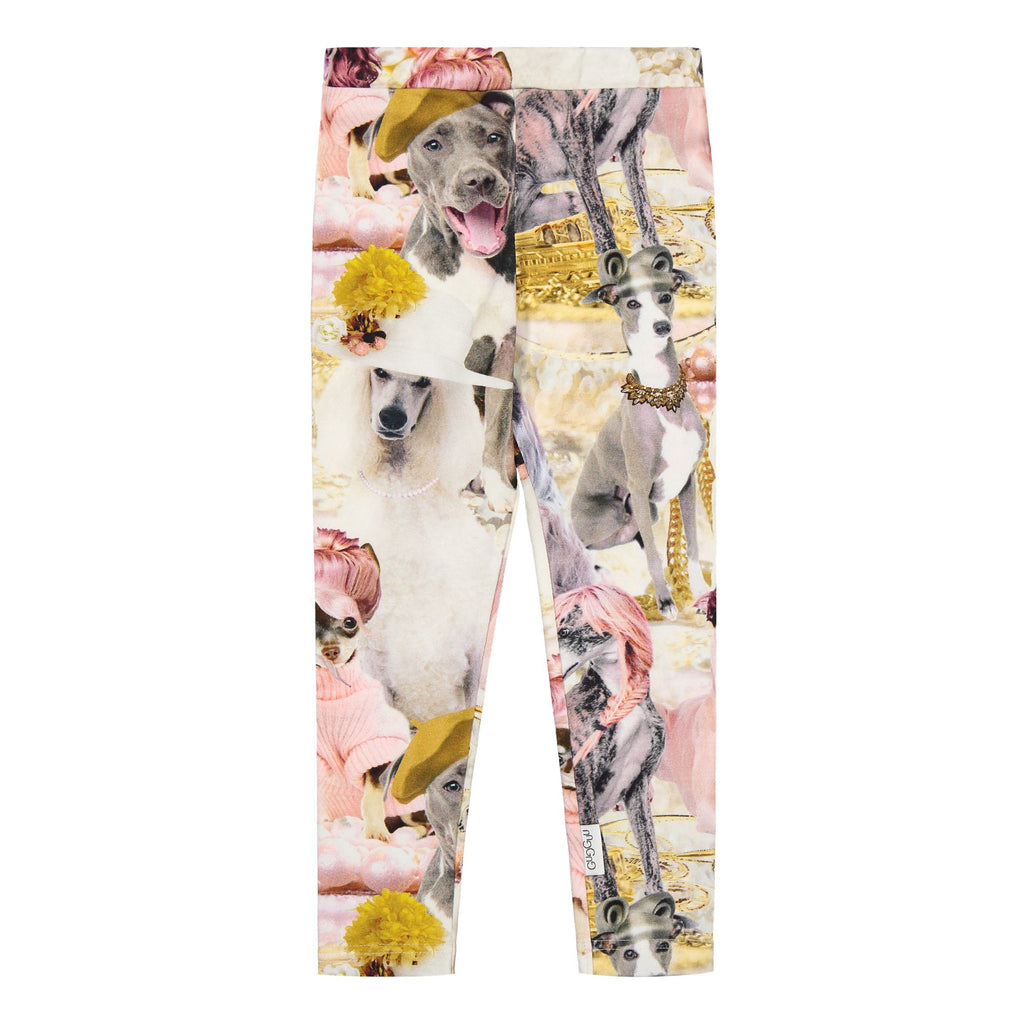 Gugguu Print Leggings Leggingsit Parisian Dogs 80