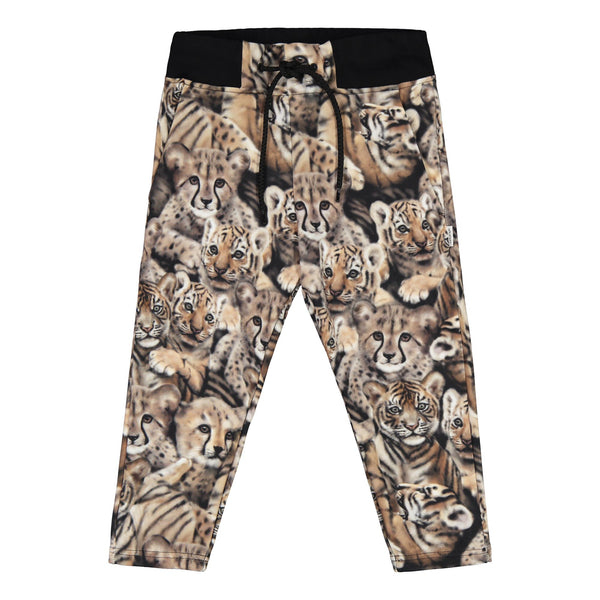 Gugguu Print Sport Pants verkkahousut Housut Noble cats 80