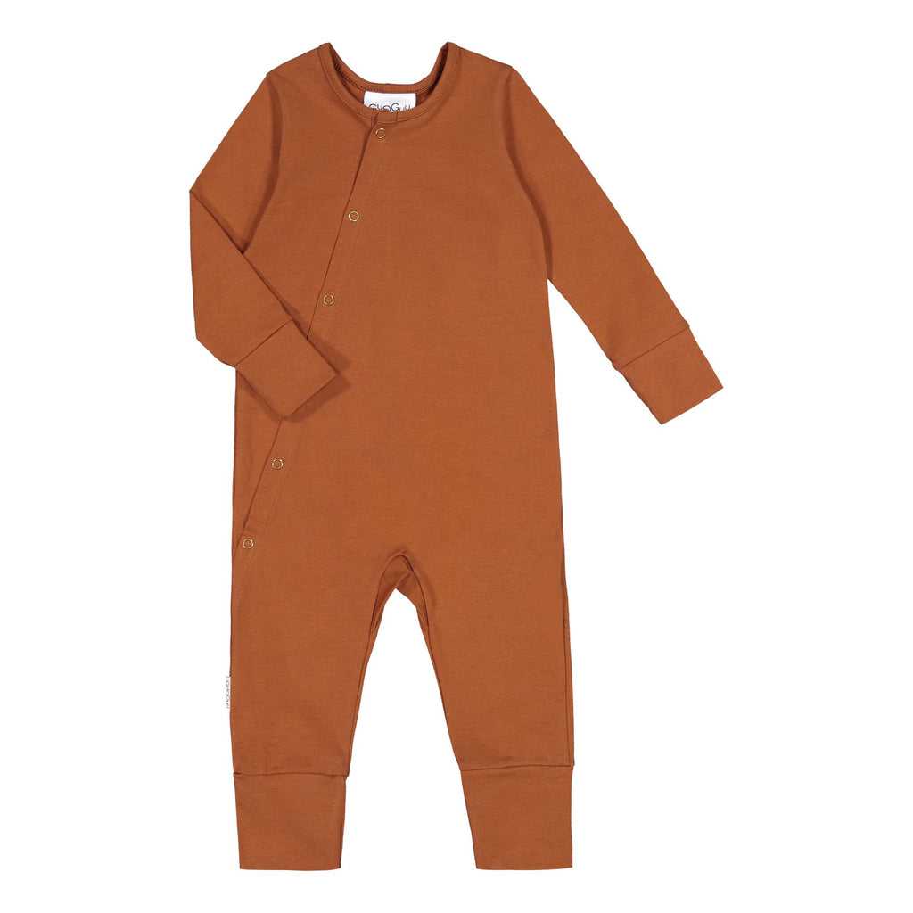 Gugguu Pyjama Yöpuvut Brown Sugar 80