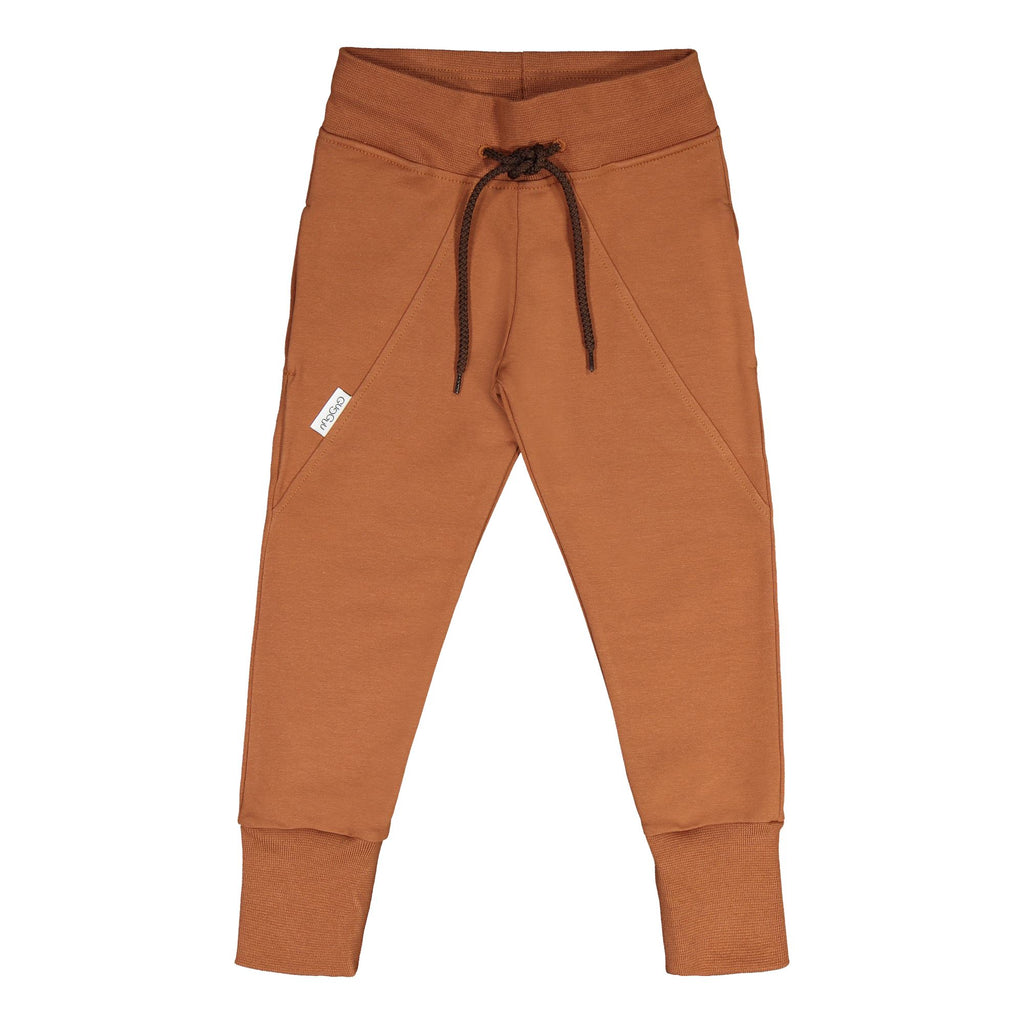 Gugguu Slim Baggy Housut Brown Sugar 80