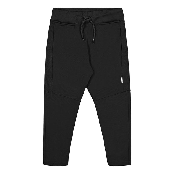 Gugguu Stripe Sport Pants verkkahousut Housut Black 80
