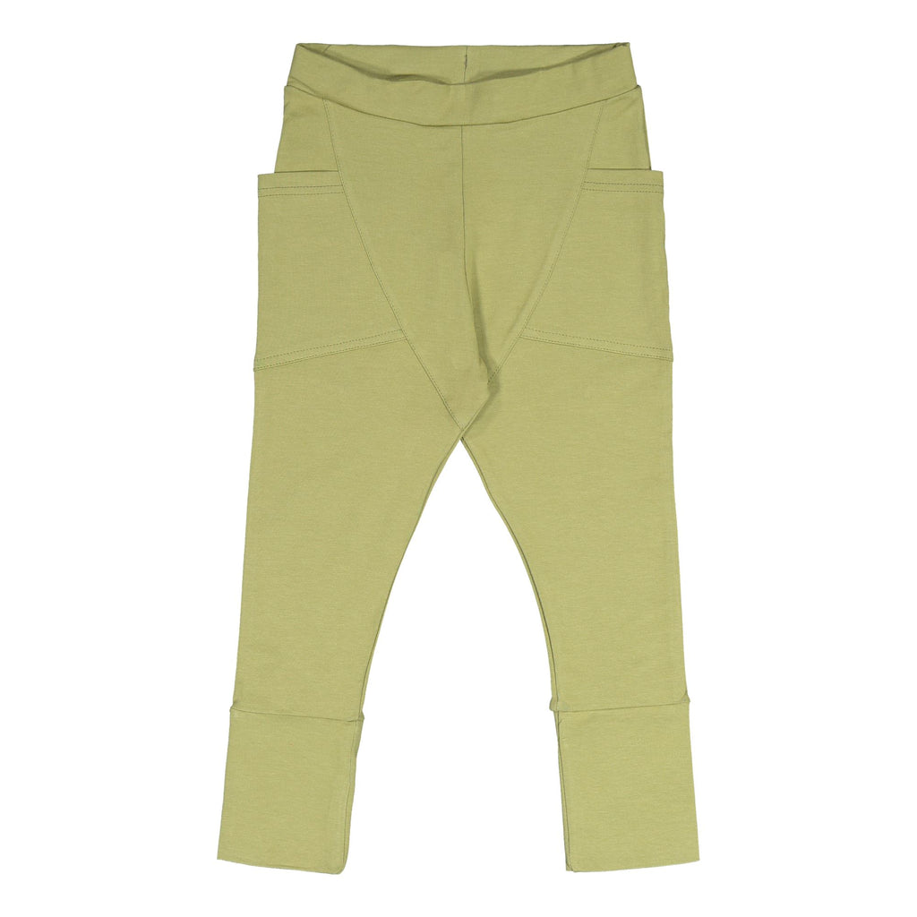 Gugguu Trikoo Pants Housut Sage Green 62