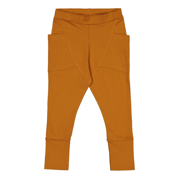 Gugguu Trikoo Pants Housut Tanned Yellow 62