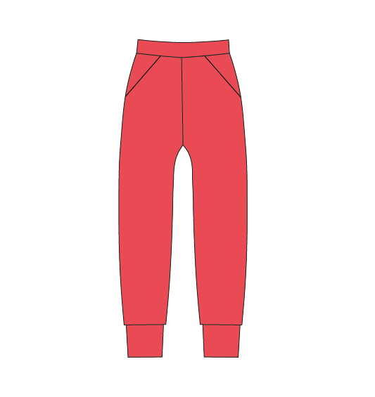OUTLET Basic Pants