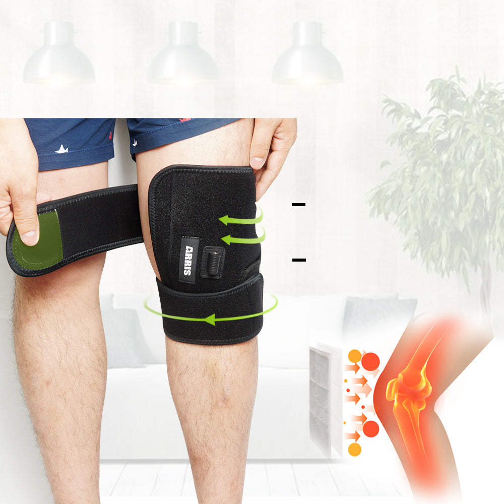 Electric Heated leg Brace Wrap with Rechargable 7.4V 2600Mah Battery XA0005