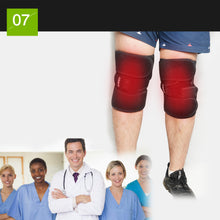 Load image into Gallery viewer, Electric Heated leg Brace Wrap with Rechargable 7.4V 2600Mah Battery