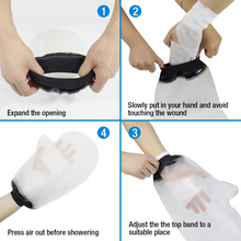 Load image into Gallery viewer, Adult Waterproof Arm Cast Cover Hand Wound Protector for Shower Bath