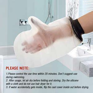 Adult Waterproof Arm Cast Cover Hand Wound Protector for Shower Bath