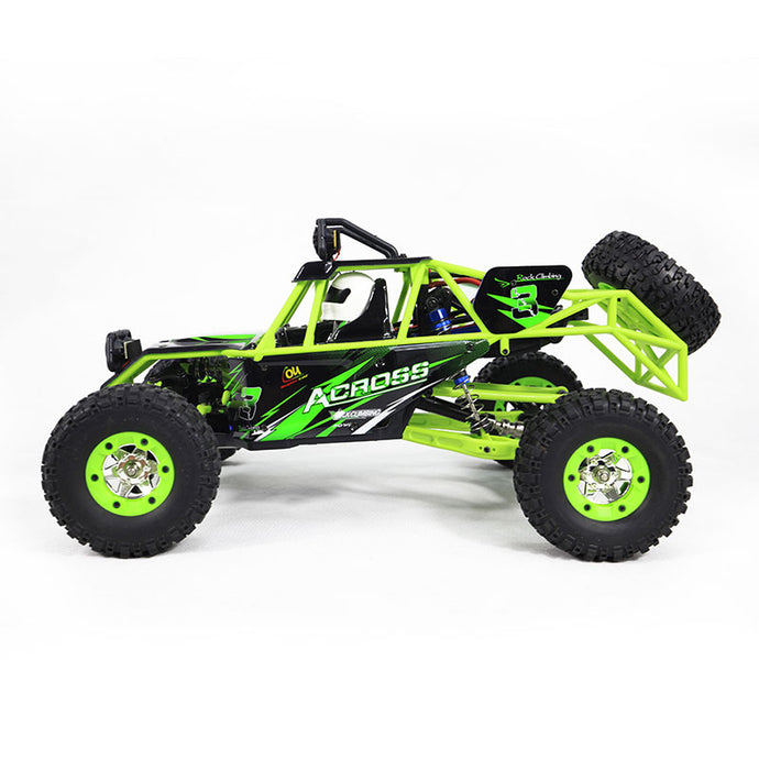 WLtoys 10428 1/10 2.4G 4WD RC Monster Crawler RC Car Great XMAX Gift