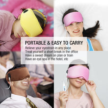 Load image into Gallery viewer, ARRIS Electric USB Heated Eye Mask with 5 Temperature Control Warm Treatment for Relieving Insomnia, Dry Eye