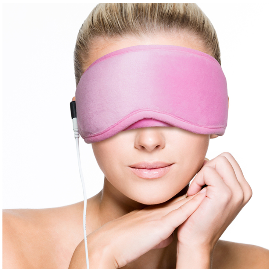 ARRIS Electric USB Heated Eye Mask with 5 Temperature Control Warm Treatment for Relieving Insomnia, Dry Eye XA0003