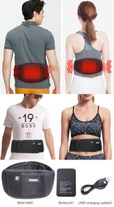 ARRIS Heating Waist Belt/Heated BackStraps for Back Pain Relief with Battery