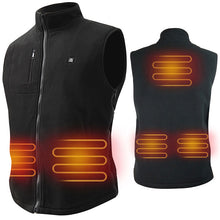 Load image into Gallery viewer, ARRIS Electric Heated Vest Size Adjustable 5V USB Warm Vest For Outdoor Camping (Fleece)