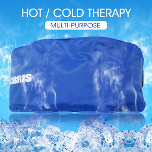 Arris Ice Packs for Waist Injuries Reusable Small Hot Cold Therapy Gel Ice Pack with Adjustable Strap for Pain Relief XA0022