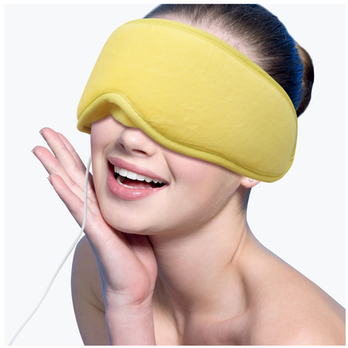 ARRIS Electric USB Heated Eye Mask with 5 Temperature Control Warm Treatment for Relieving Insomnia, Dry Eye XA0030