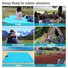 Load image into Gallery viewer, Outdoor Waterproof Windproof Beach Blanket Sand Proof with Hood and Zipper Pocket(55 x 78 inches)