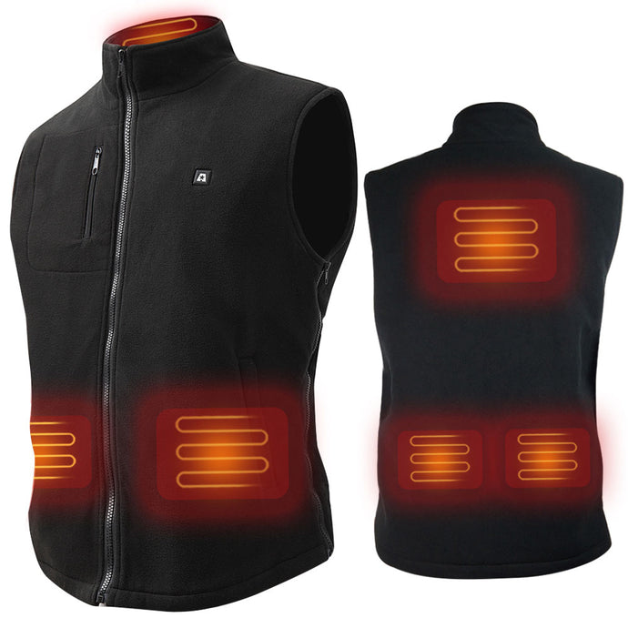 New ARRIS 7.4V Battery Heated Vest Size Adjustable Vest(Fleece)