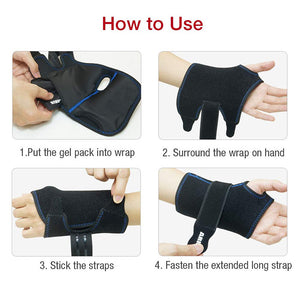 Hot Cold Gel Pack for ARRIS Wrist Wrap