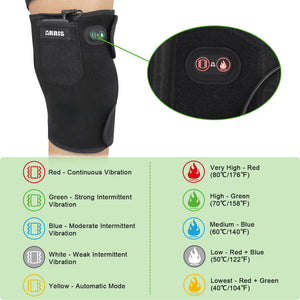 ARRIS 7.4V 4200mah Battery Heating Knee Pad with Massage Vibration motor