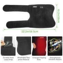 Load image into Gallery viewer, ARRIS 7.4V 4200mah Battery Heating Knee Pad with Massage Vibration motor