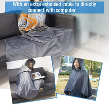 Load image into Gallery viewer, ARRIS Heated Blanket 5V Electric Outdoor Fleece Waterproof Windproof Blanket for Indoor and Outdoor Activities