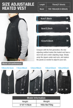 Load image into Gallery viewer, ARRIS Heated vest with battery pack