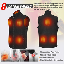 Load image into Gallery viewer, heated vest mens