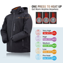 Load image into Gallery viewer, Battery heated jacket for men