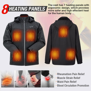 rechargeable heated jackets